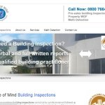 web design for Building inspcetors