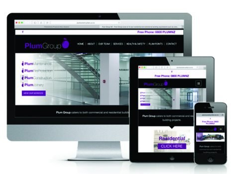 Plum Group Website