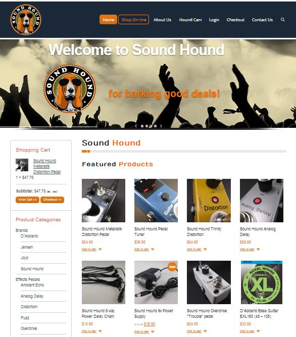ecommerce sound hound
