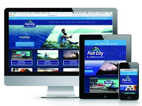 Fish City Website