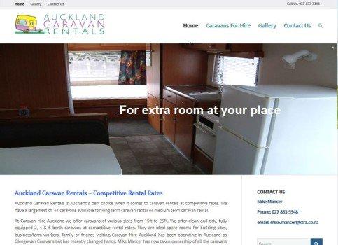 auckland caravan rentals