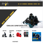 diving website