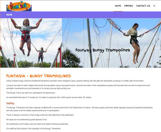 BUNGY TRAMPOLINES